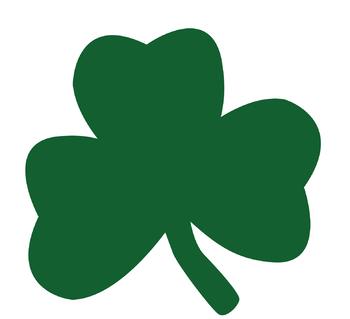 St Patrick's Day Leaf