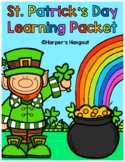 St. Patrick's Day Learning Packet