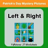 St. Patrick's Day: Left & Right side - Color by Emoji - My