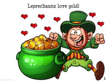 St. Patrick's Day Leprechaun BONUS POSTER