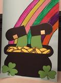 St. Patrick's Day Leprechaun Art Template