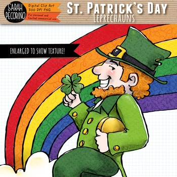 St. Patrick's Day Leprechaun Clip Art