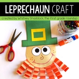 Leprechaun Craft and St Patricks Day Prompts