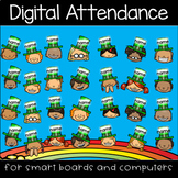St. Patrick's Day Leprechaun Digital Attendance (Smart Boards and Computers)