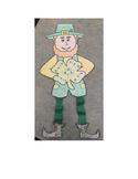 St. Patrick's Day Leprechaun Fact Family Math Craft