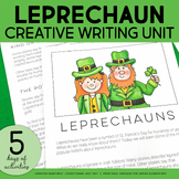 St. Patricks Day | Leprechaun Writing Unit