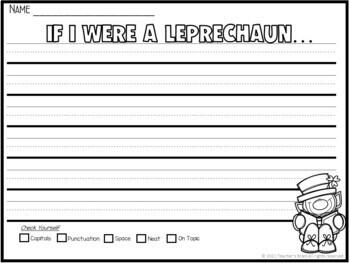 St Patricks Day Craft Leprechaun Craft Hat and Beard Headband by Teacher's Brain