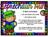 St. Patrick's Day Leprechaun Hunt