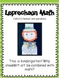 St. Patrick's Day: Leprechaun Math