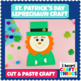 St. Patrick's Day Leprechaun Paper Craft