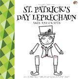 St.Patrick's Day Leprechaun Puppet Arts and Crafts