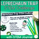 St Patrick's Day Leprechaun Trap STEM Challenge