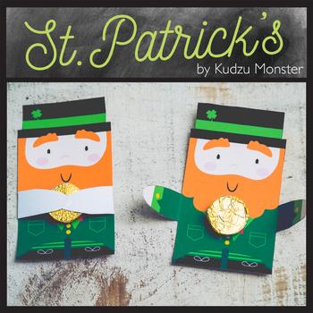 St. Patrick's Day Leprechaun Treat Huggers