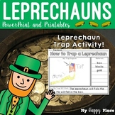 St. Patrick's Day Leprechaun Unit with Trap Activity