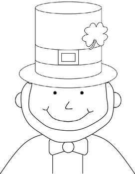 St. Patrick's Day Leprechaun Writing Craftivity
