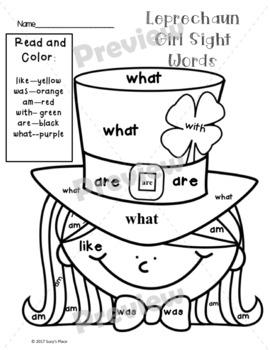 St. Patrick's Day writing, craft and Leprechaun Visit Kit
