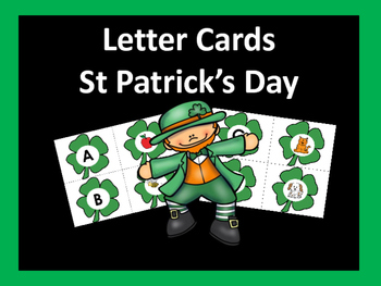 St. Patrick's Day Letter Cards