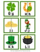 St Patrick's Day Letter Match Puzzles