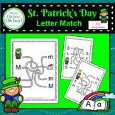 St. Patrick's Day Letter Match - S