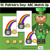 St Patrick's Day Letter Match Up Game and Activity