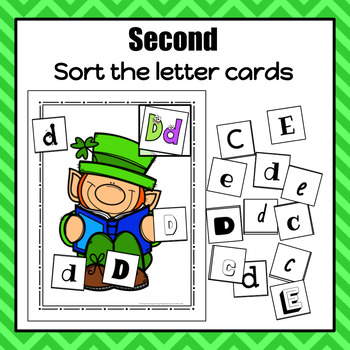 St. Patrick's Day Letter Sort - S