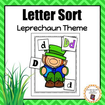 St. Patrick's Day Letter Sort - S