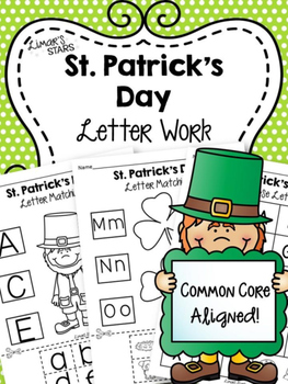 St. Patrick's Day Letter Work