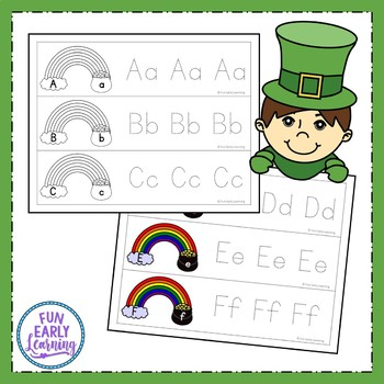St. Patrick's Day Letter Writing Strips