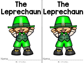 St. Patrick's Day Level A Easy Readers