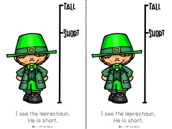 St. Patrick's Day Level B Easy Reader