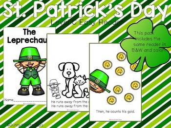 St. Patrick's Day Level C Easy Reader