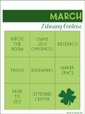 March: Library Centers