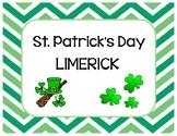 St. Patrick's Day Limerick Poem