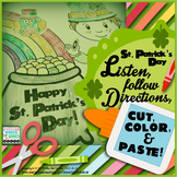 St. Patrick's Day Language Activity for Following Directions