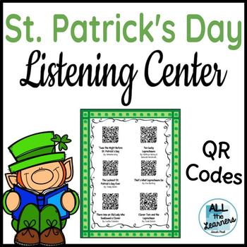 St. Patrick's Day Listening Center QR Codes