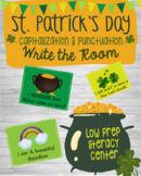 St. Patrick's Day Literacy Center - Capitalization & Punct