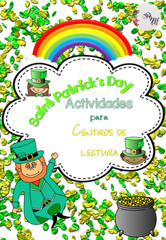 St Patrick's Day Literacy Center Spanish / San Patricio Centros de lectura