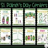 St. Patrick's Day Literacy Centers Bundle