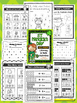 St. Patrick's Day Literacy & Math Activities - NO PREP