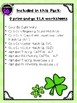 St. Patrick's Day Literacy Pack for Kindergarten