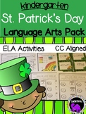 St. Patrick's Day Literacy Pack for Kindergarten