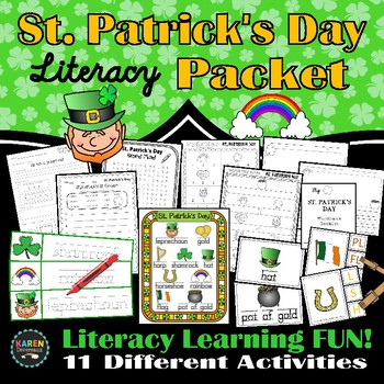 St. Patrick's Day Literacy Packet