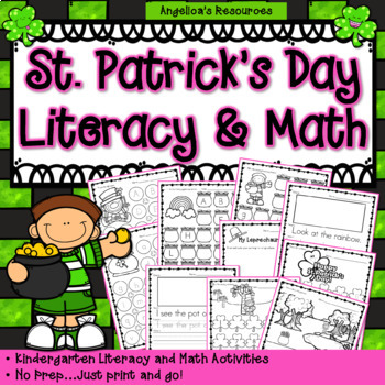 St. Patrick's Day : Literacy and Math Activities