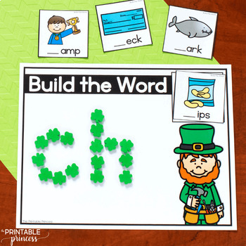 St. Patrick's Day Literacy and Math Activities | Great for Morning Tubs!