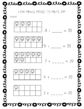 St. Patrick's Day Literacy and Math Activities for Kindergarten