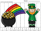 St. Patrick's Day Literacy and Math Activity Pack (SPANISH) - FREEBIE