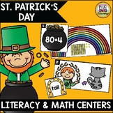 St. Patrick's Day Literacy and Math Centers
