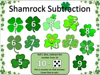 St. Patrick's Day March Literacy and Math Super Bundle