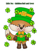 St. Patrick's Day Little Fox Addition Roll and Cover - 2 Dice