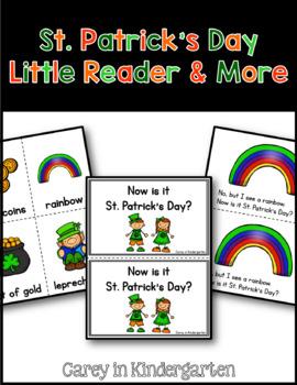 St. Patrick's Day Little Reader& More--Kindergarten